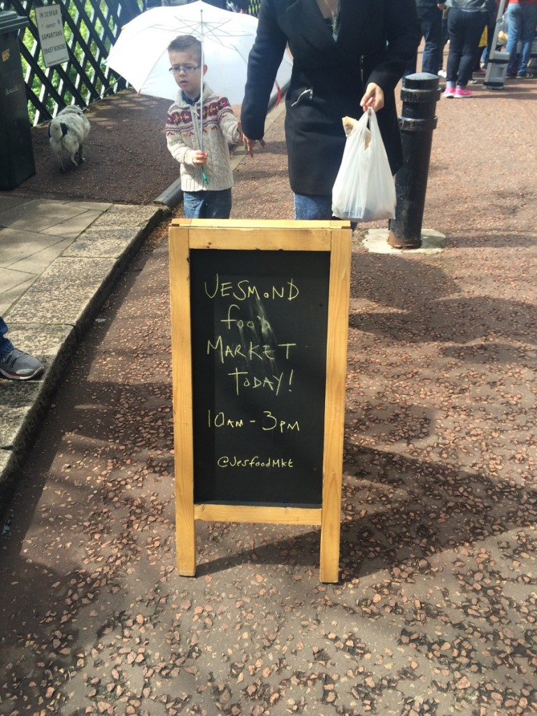 Jesmond Food Market, Armstrong Bridge
