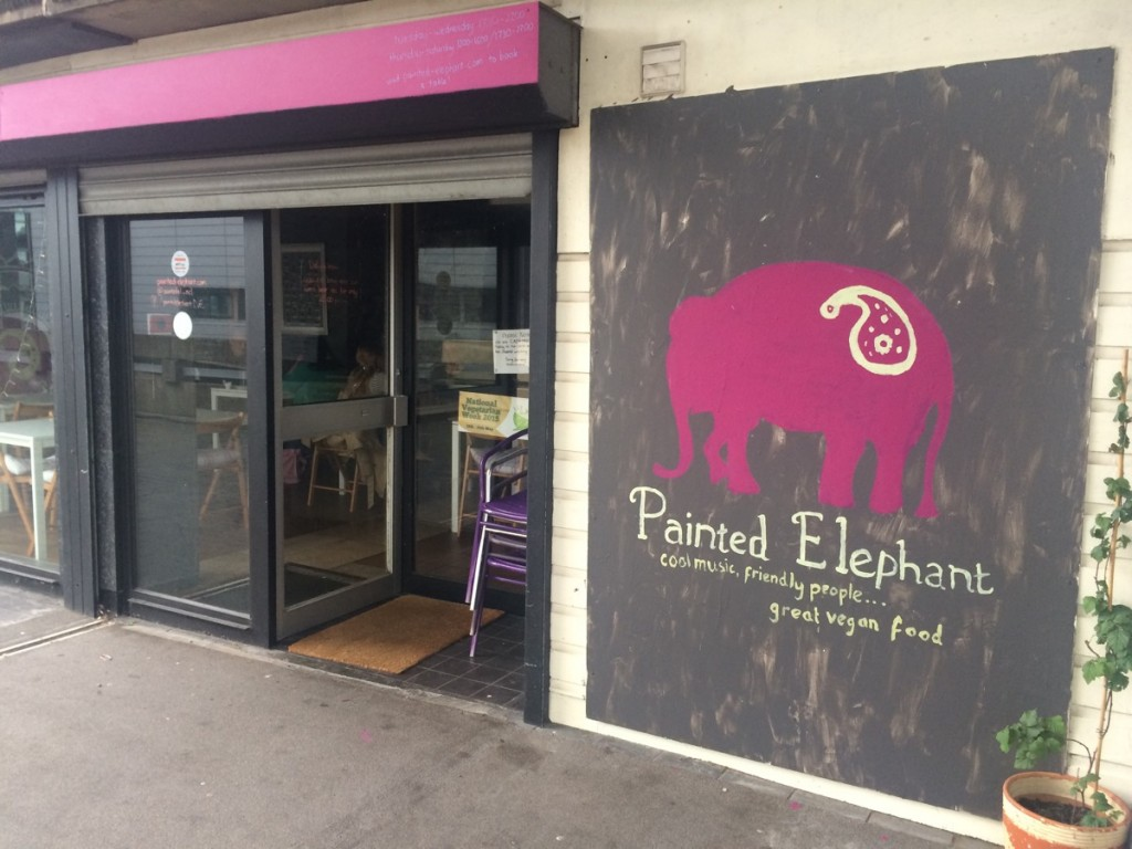 National Vegetarian Week – Painted Elephant (Now Closed)