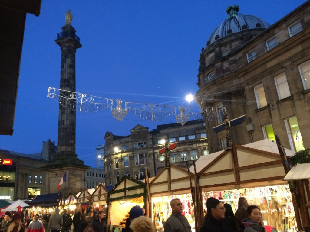 Newcastle's Christmas Continental Market