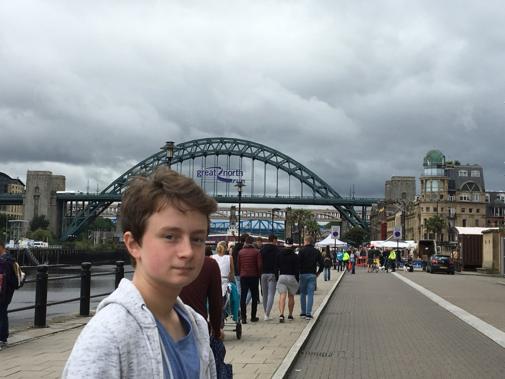Newcastle Quayside's Sunday Market – Lots of Veggie Options?
