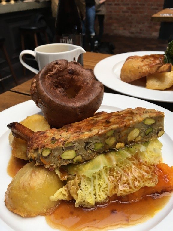 Vegetarian and Vegan Sunday Lunches in Newcastle