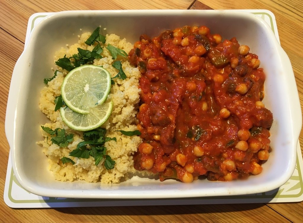 Easy Chickpea Stew – A Vegan Winter Warmer
