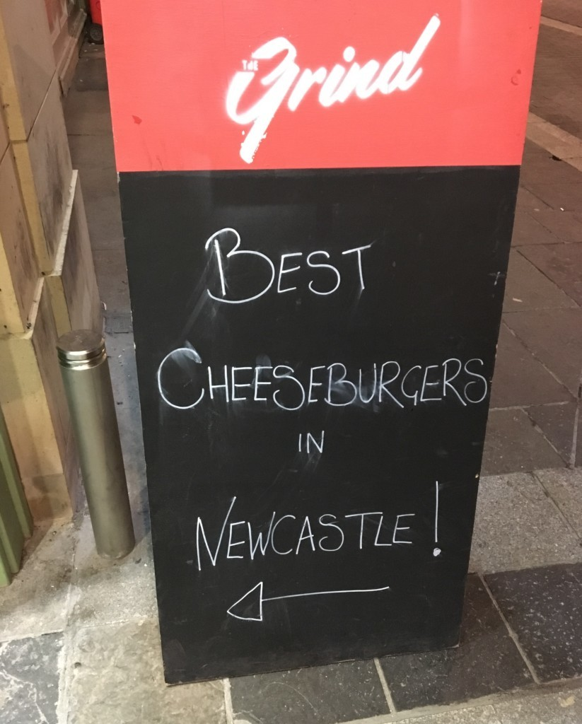 The Grind Newcastle – All the Burgers