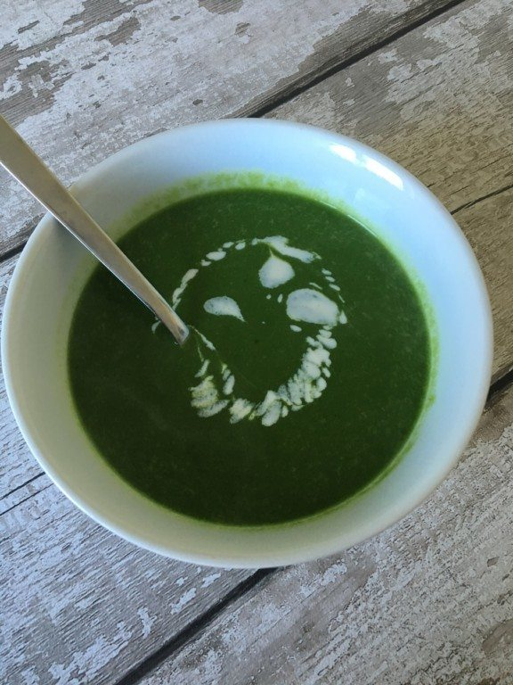 Simple Spinach Soup – Simple Vegan Recipes