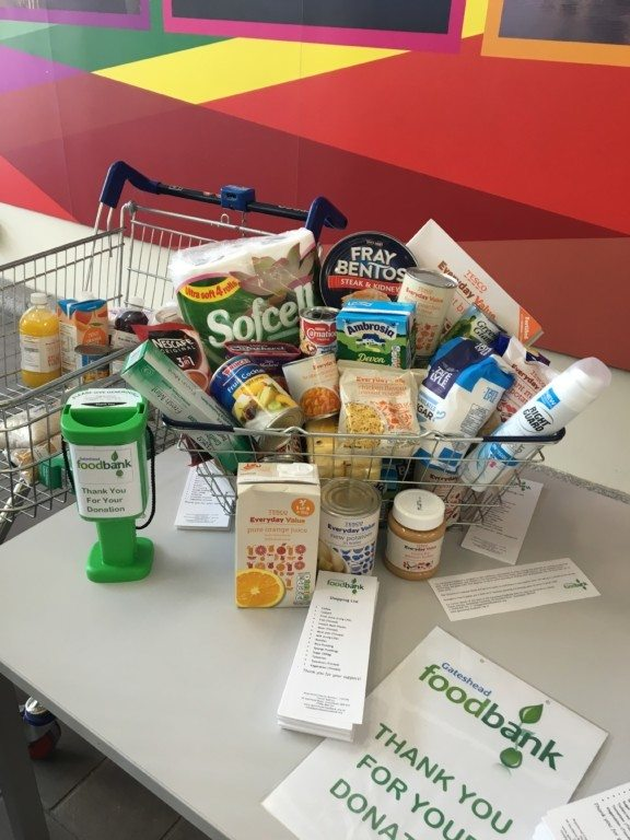 Gateshead Foodbank – What we can do to help in our local community