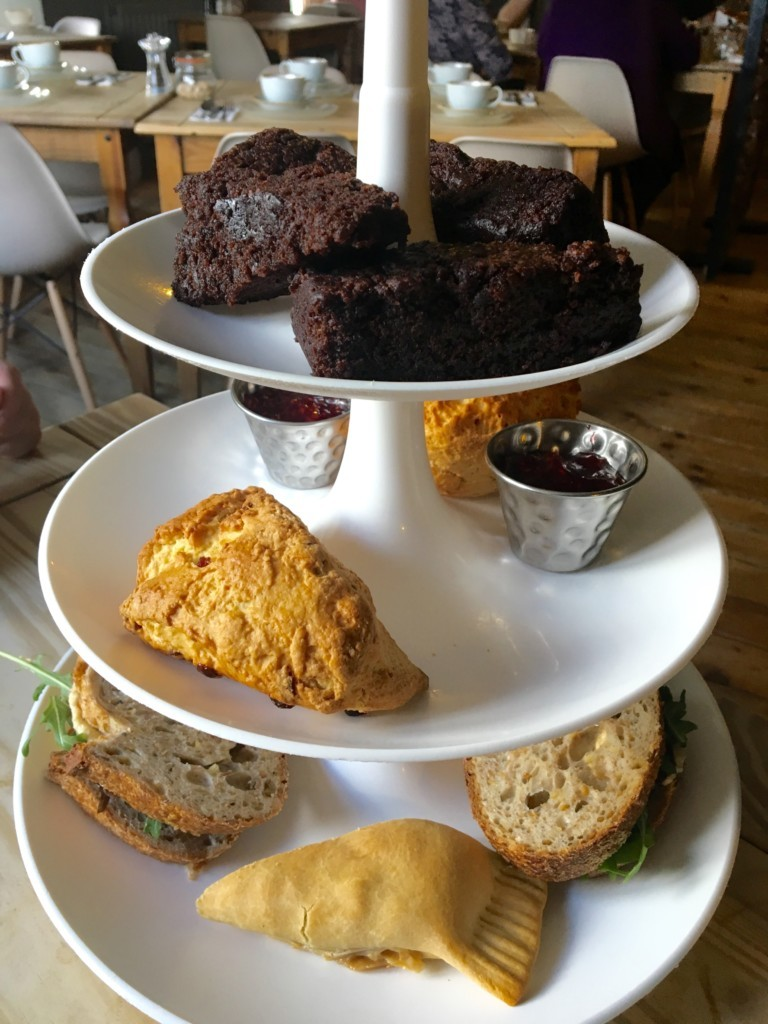 Vegan Afternoon Tea – The Running Fox, Felton