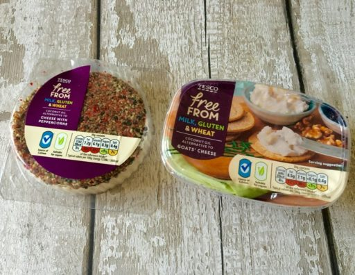 Tesco's New Free From Vegan Cheeses - Canny Food