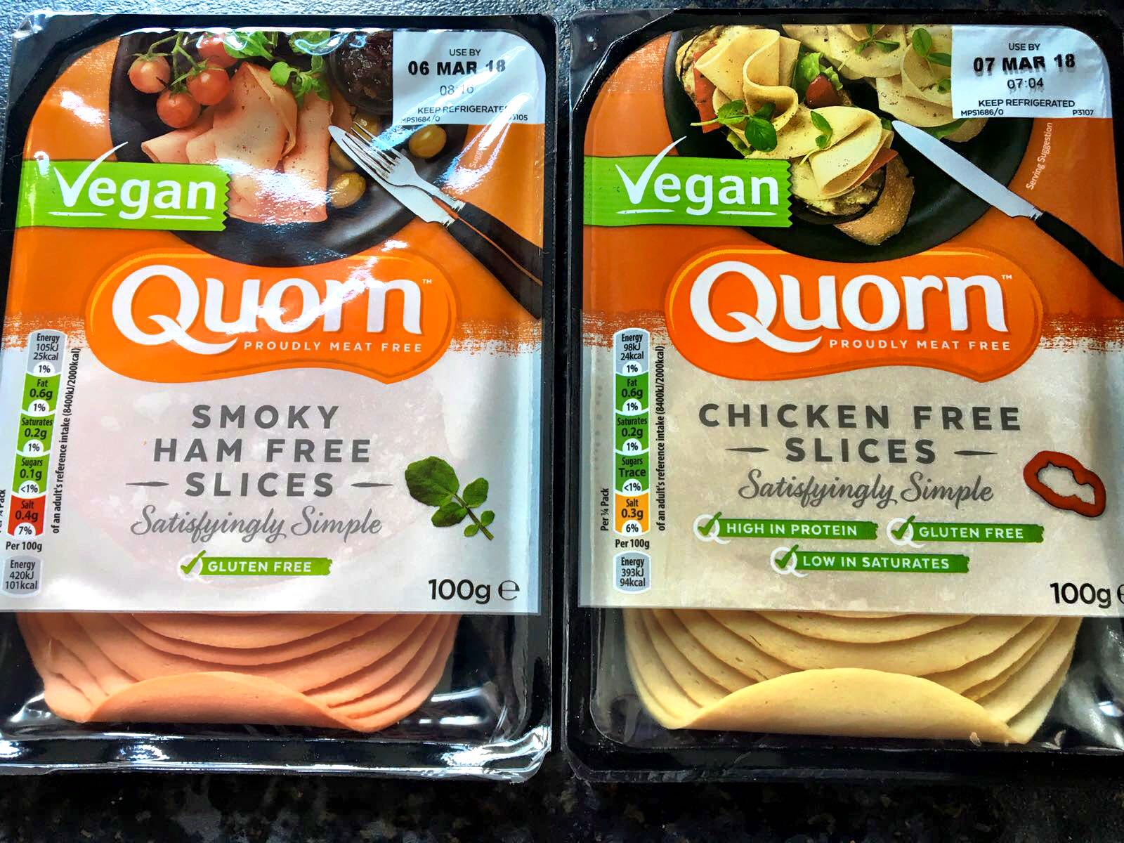 Quorn Launches Vegan Deli Line