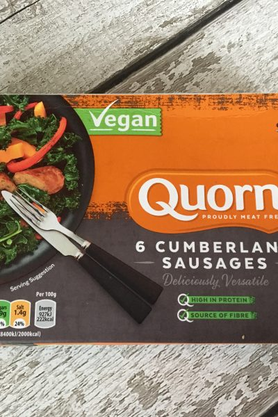 Quorn's New Vegan Sausages – Review