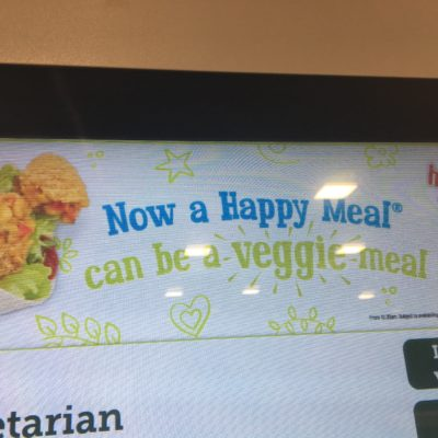 New Vegan Options at McDonalds